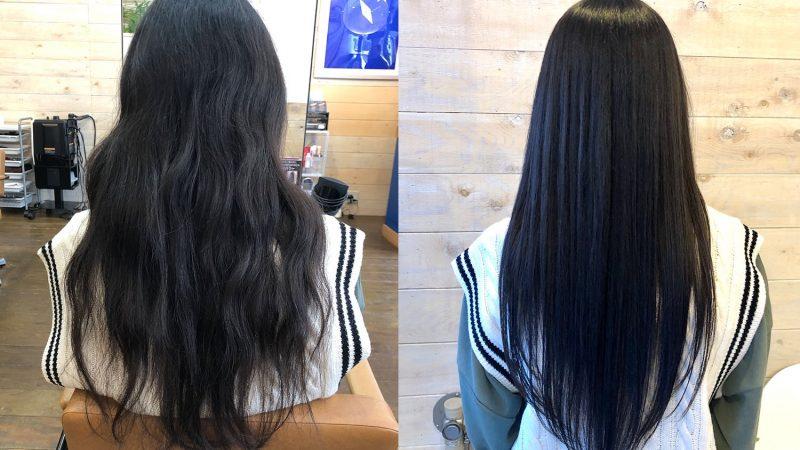 毛髪改善メニュー大好評です