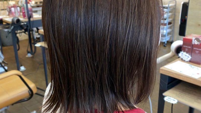 髪質改善でさらツヤ髪。